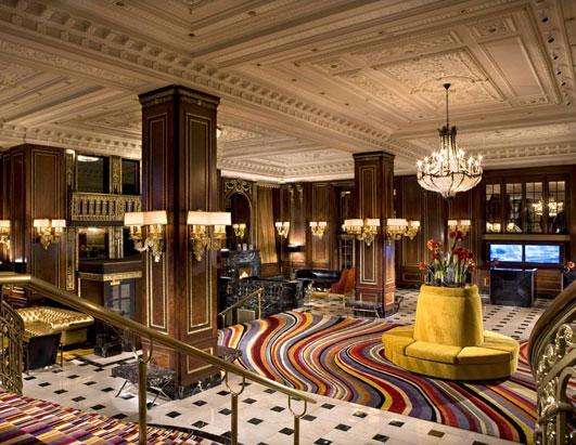 Grand hotel lobbies fashion class jet lag the blog - African american interior designers chicago ...