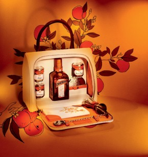 MY COINTREAU Cocktails Bag Fashion Class and Jet Lag